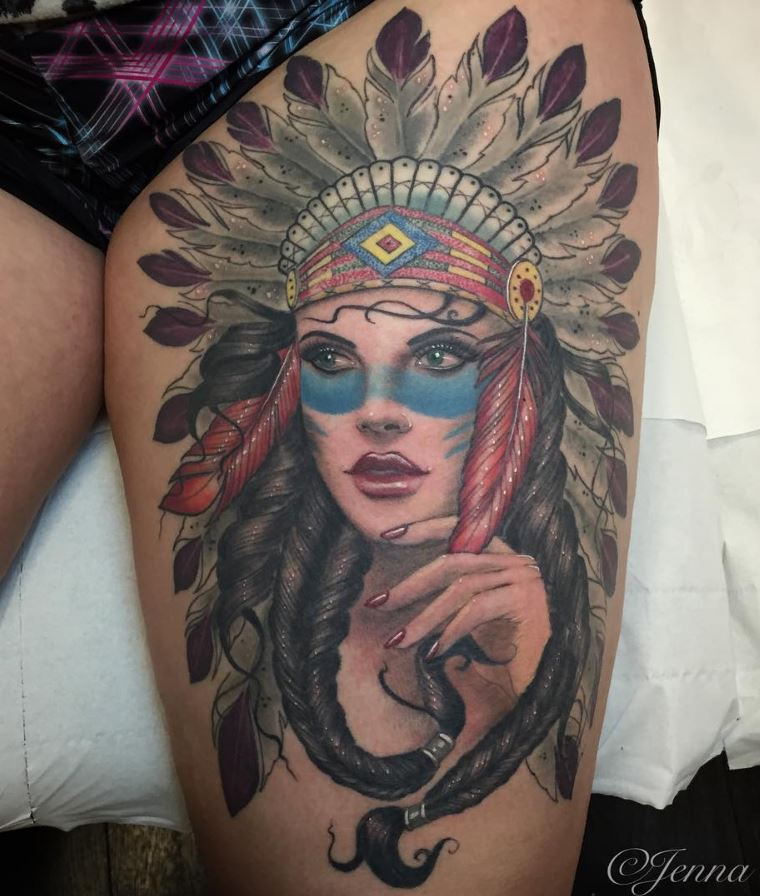30+ Tattoos by Jenna Kerr from UK