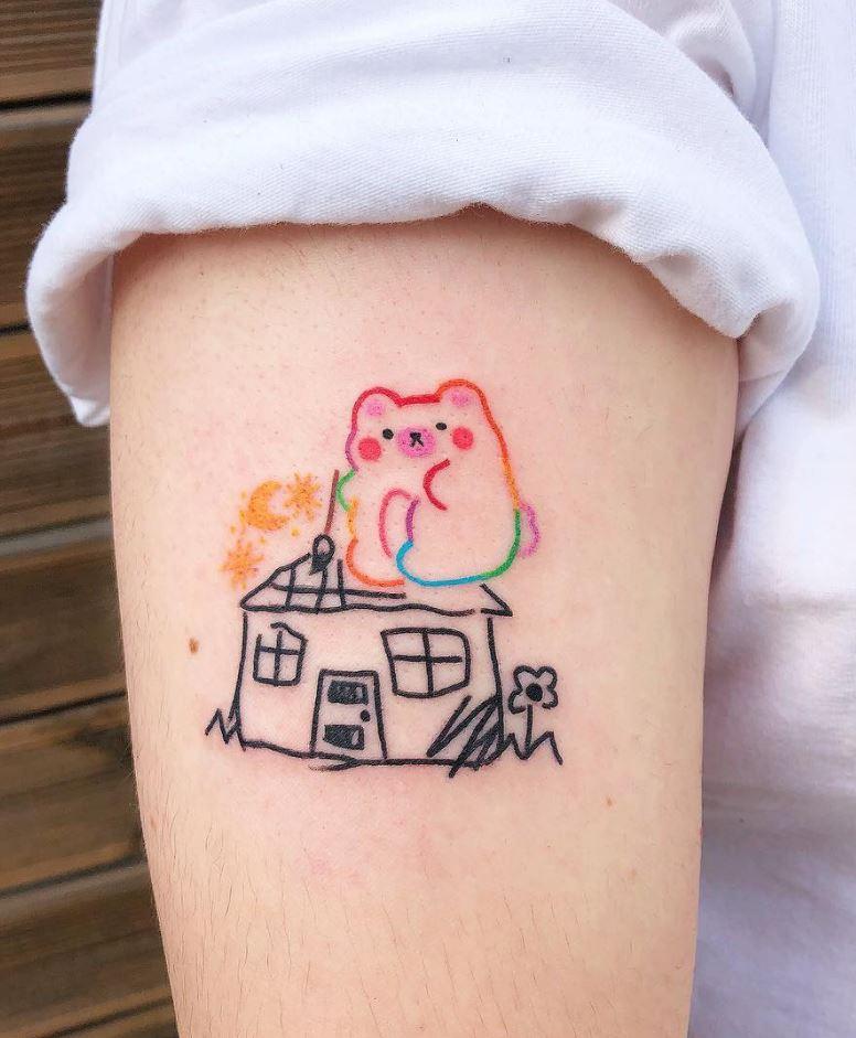 12b33b1b2 90 Super Cute Small Tattoo Ideas For Every Girl - TheTatt
